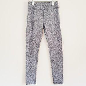 Lou & Grey Heatered Grey Yoga Pants